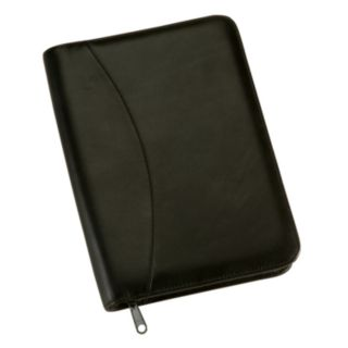 Royce Leather Zippered Jr. Padfolio