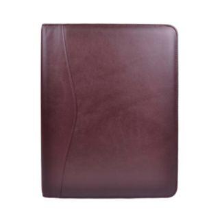 Royce Leather Zippered Padfolio