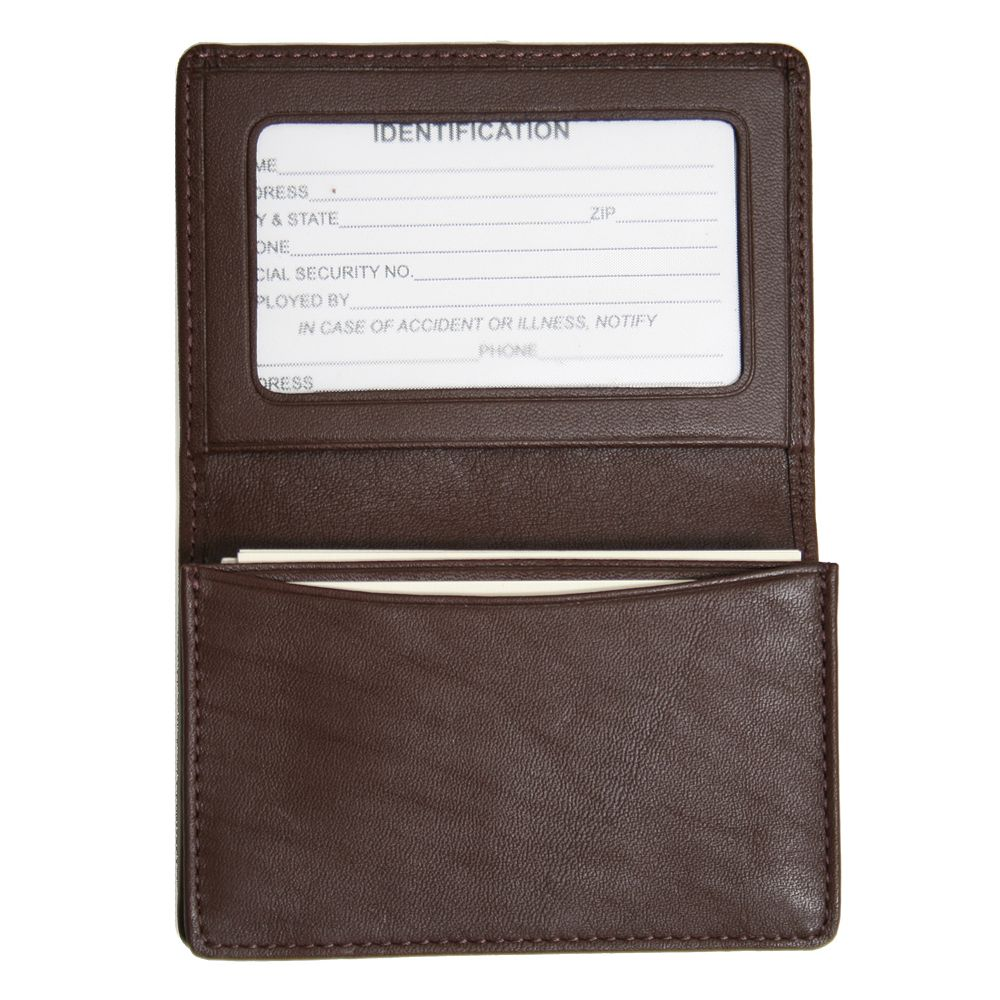 royce leather business card holder - Leather Business Card Holder