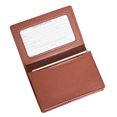 Royce Leather Business Card Holder