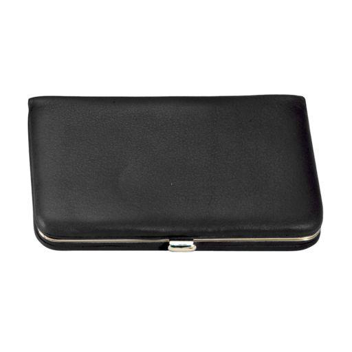 Royce Leather Framed Business Card Case