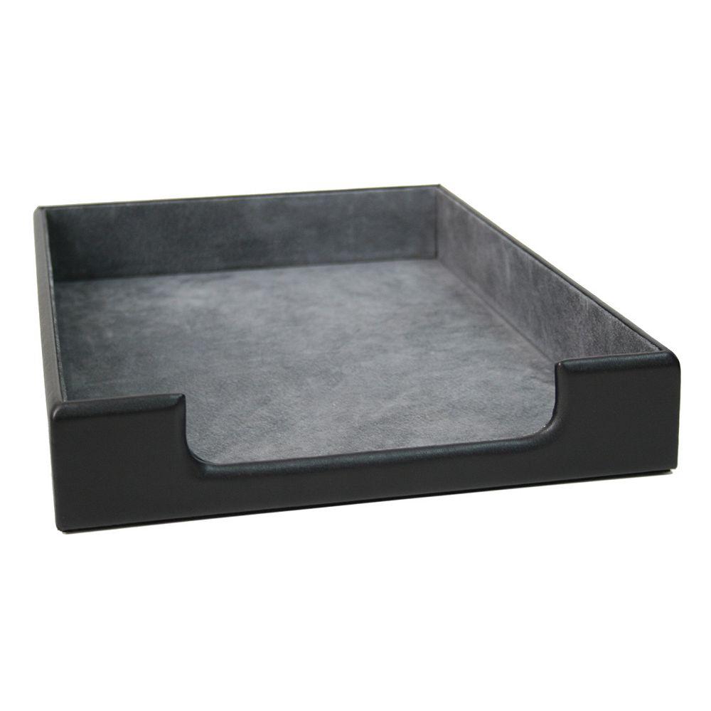 Royce Leather Desk Letter Tray