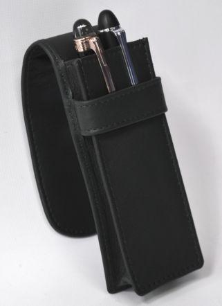 Royce Leather Double Pen Case