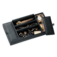 Royce Leather Valet Tray