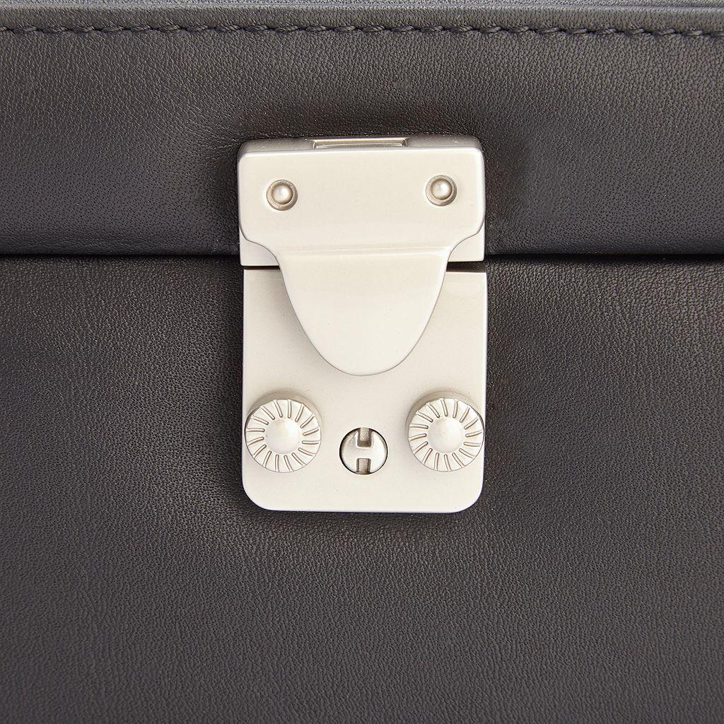 Royce Leather 4-Slot Eyeglass Box