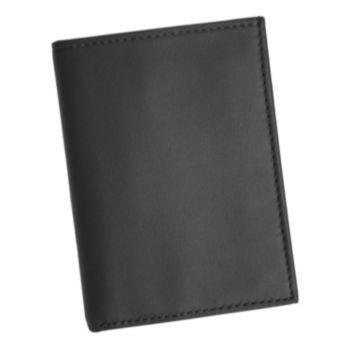 Royce Leather Double ID Flip Credit Card Wallet