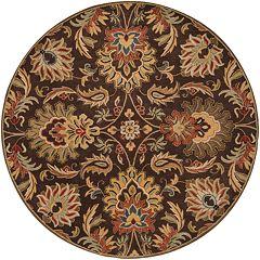 Surya Caesar Floral Ivory Rug - 8' Round