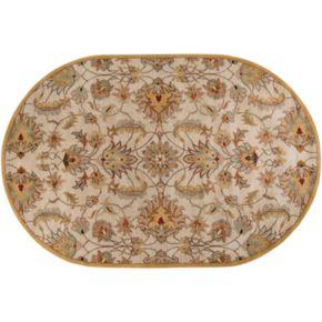 Surya Caesar Floral Rug - 6' x 9' Oval