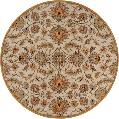 Surya Caesar Floral Rug – 8′ Round