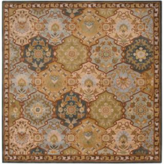Surya Caesar Floral Geometric Rug - 6' Square