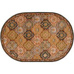 Surya Caesar Floral Geometric Rug - 8' x 10' Oval