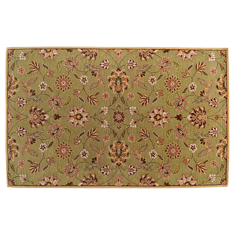 Decor 140 Legion Floral Rug, Yellow, 8X11 Ft