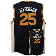adidas Utah Jazz Al Jefferson NBA Jersey - Boys 8-20