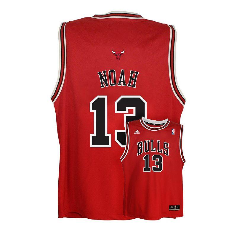 adidas Chicago Bulls Joakim Noah NBA Jersey - Boys 8-20
