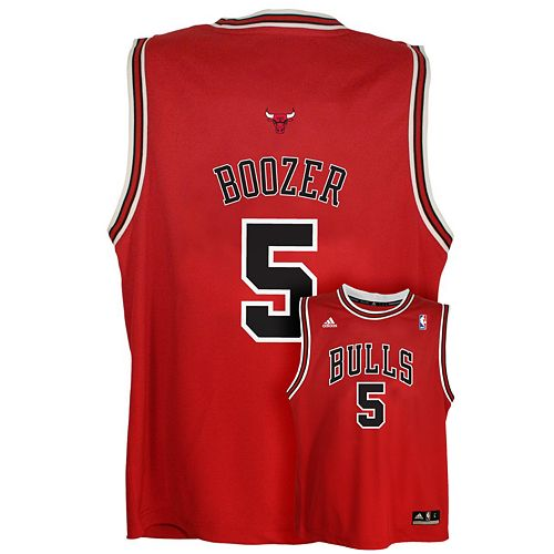 best loved 17b8b b783f adidas Chicago Bulls Carlos Boozer NBA Jersey - Boys 8-20