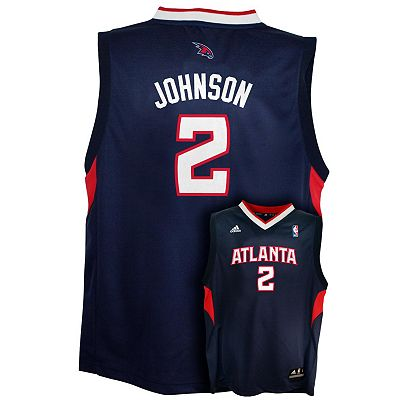 adidas Atlanta Hawks Joe Johnson NBA Jersey - Boys 8-20