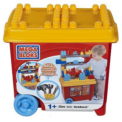 Mega Bloks Build 'n Play Workbench