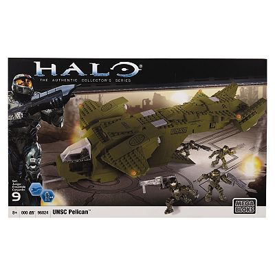 Halo UNSC Pelican Dropship Set by Mega Bloks