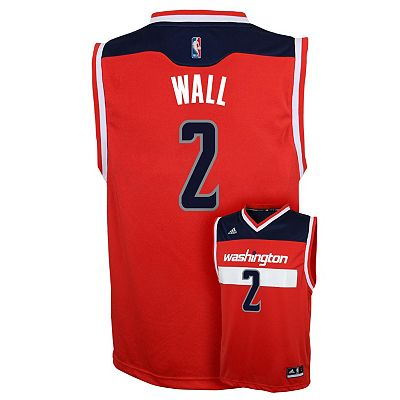 adidas Washington Wizards John Wall NBA Jersey - Boys 8-20