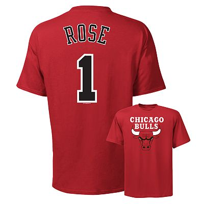 Chicago Bulls Derrick Rose Tee
