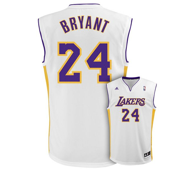 Men's adidas Los Angeles Lakers Kobe Bryant Revolution Jersey