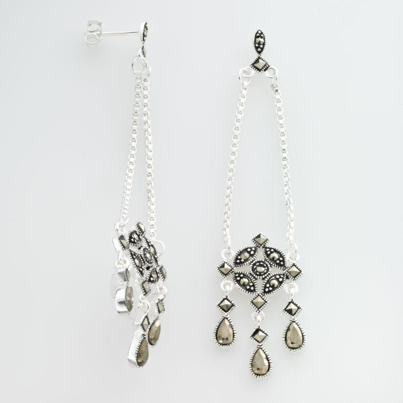 Grey 3 Stone Earrings Kohl S
