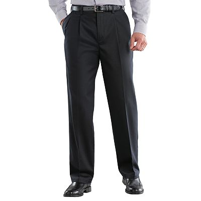 Croft and Barrow Easy-Care Classic-Fit Pleated Pants
