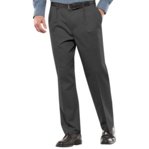 Men's Croft & Barrow® Stretch Easy-Care Classic-Fit Pleated Pants