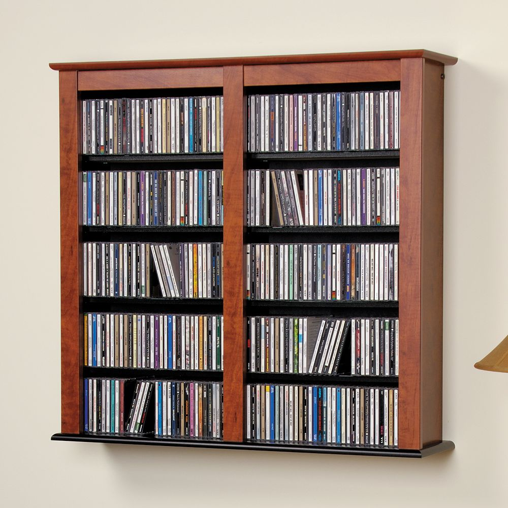 Prepac Wall-Mounted Media Shelf