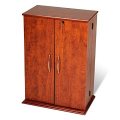 Prepac Small Locking Multimedia Storage Cabinet