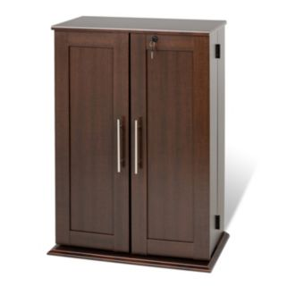 Prepac Small Locking Multimedia Storage Cabinet