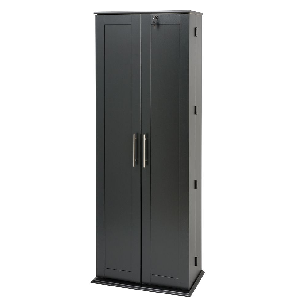 Prepac Grande Locking Multimedia Storage Cabinet
