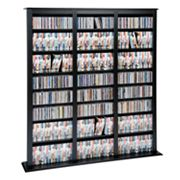 Prepac Triple Width Barrister Multimedia Storage Tower