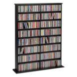 Prepac Double Width Multimedia Wall Storage