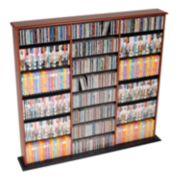 Prepac Triple Width Multimedia Wall Storage