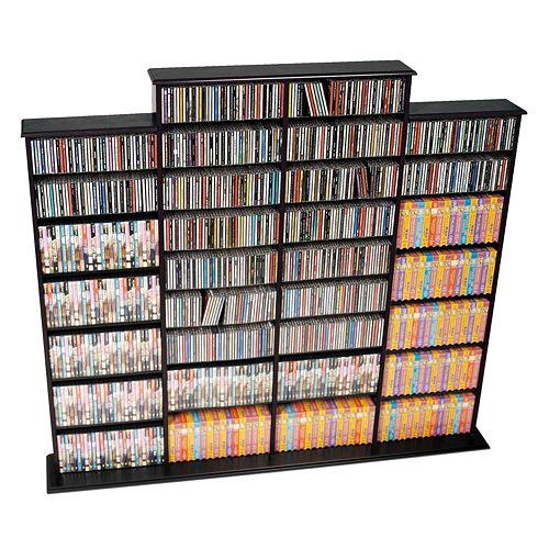 Prepac™ Quad Width Multimedia Wall Storage