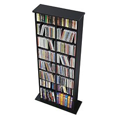 Prepac Double Multimedia Storage Tower