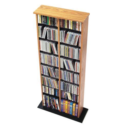 Prepac Double Multimedia Storage Tower