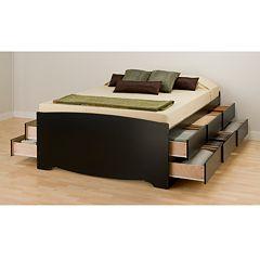 Prepac Full 12-Drawer Platform Storage Bed