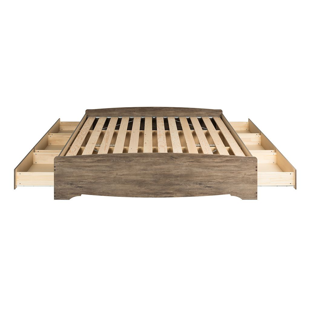 Prepac King Platform Storage Bed