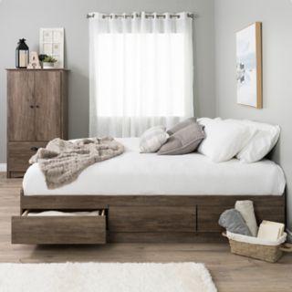 Prepac King Platform Storage Bed