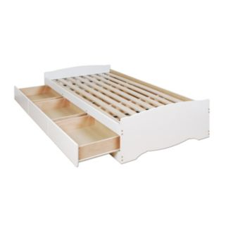Prepac Twin Platform Storage Bed
