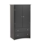 Prepac 2-Drawer Armoire
