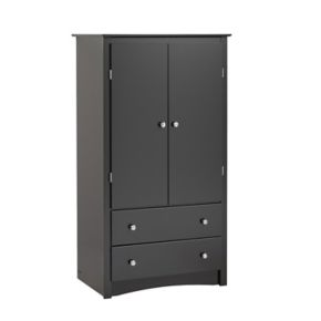 Prepac Sonoma 2-Drawer Armoire