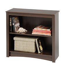 Prepac 2-Shelf Bookcase