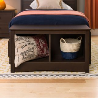 Prepac Twin Cubby Bench
