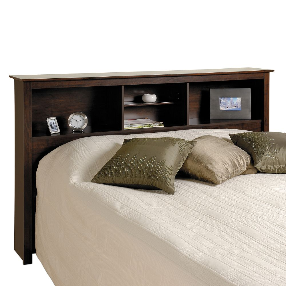 headboards beds p size black bookcases full queen south shore pure headboard in bookcase vito