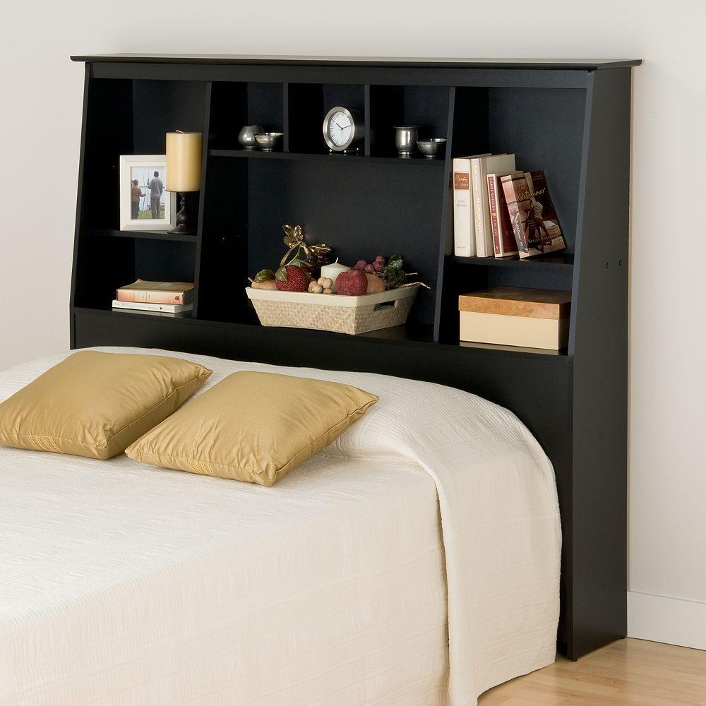 Prepac Full/Queen Tall Bookcase Headboard