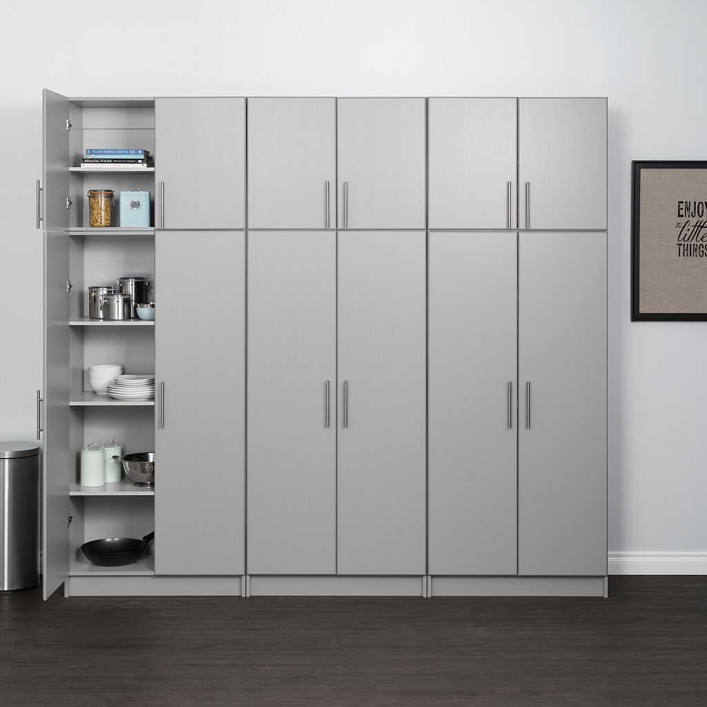 Prepac Elite Double Topper & Wall Cabinet