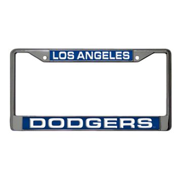 Los Angeles Dodgers Metal License Plate Frame